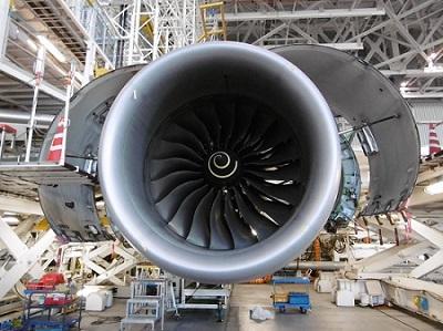 B787ロールスロイス製のエンジン