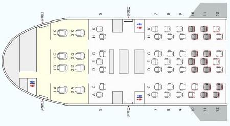 JAL国内線で座席指定