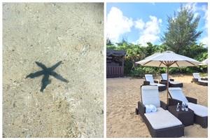 沖縄リッツのビーチ