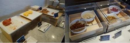 ラウンジの和食系