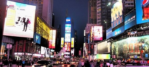 ニューヨークのダウンタウン