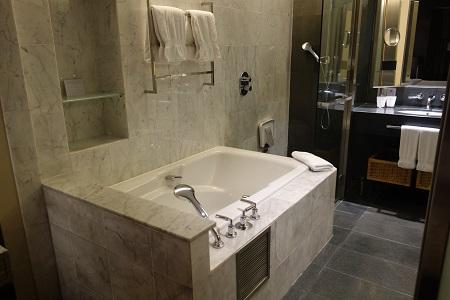 クアラルンプールヒルトンのバスルーム