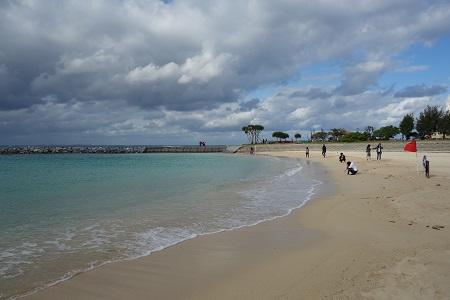 沖縄北谷町のビーチ