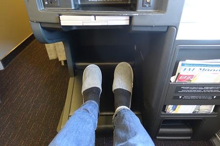 JALスカイスイートのシートピッチ