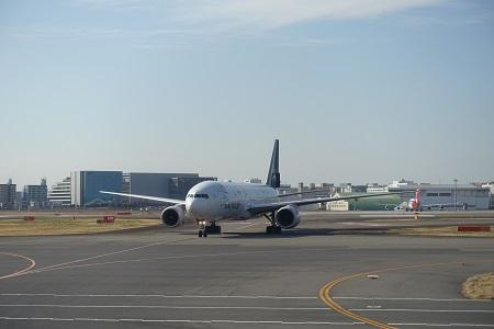 ユナイテッド航空のスタアラ塗装
