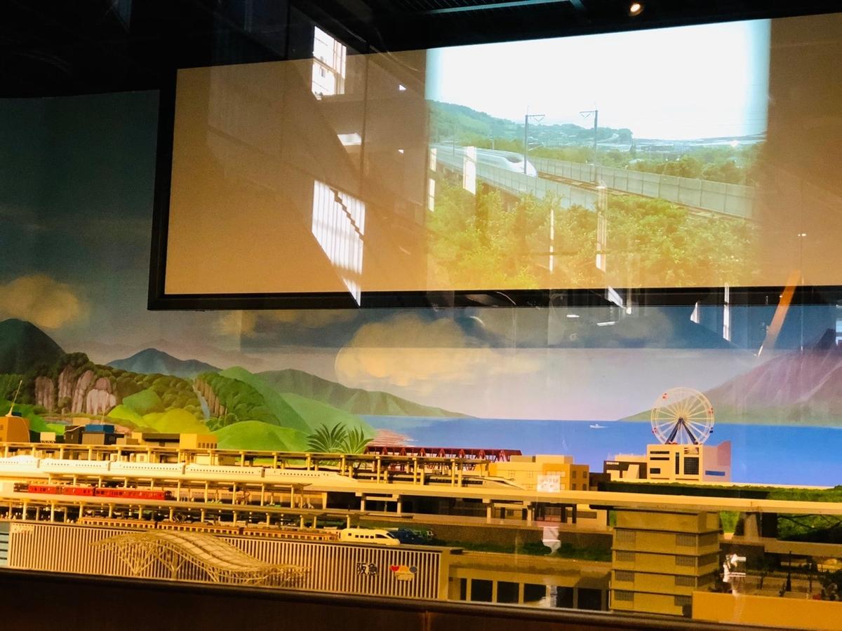 九州の鉄道大パノラマを撮影した写真