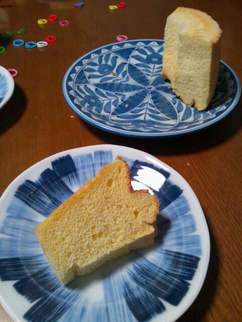 なかしましほさんのシフォンケーキを15cm紙型で
