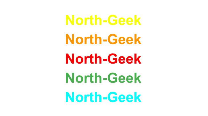 Webアクセシビリティに対応していない色リスト