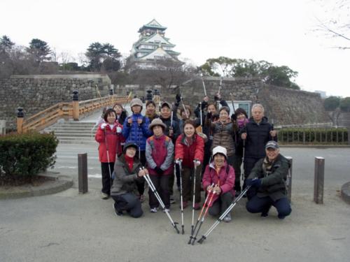 2012.01.14 講習会(大阪城公園)