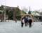 2012.01.14 講習会(大阪城公園) 豊国神社で茅輪(ちのわ)くぐり