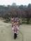 2012.02.15 講習会(大阪城公園) 梅林公園にてポーズ