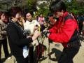 2012.03.13 岸和田健老大学にて インストラクターの説明を聞く受講生