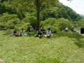 2012.05.26 白山スーパー林道ウオーク ランチタイム