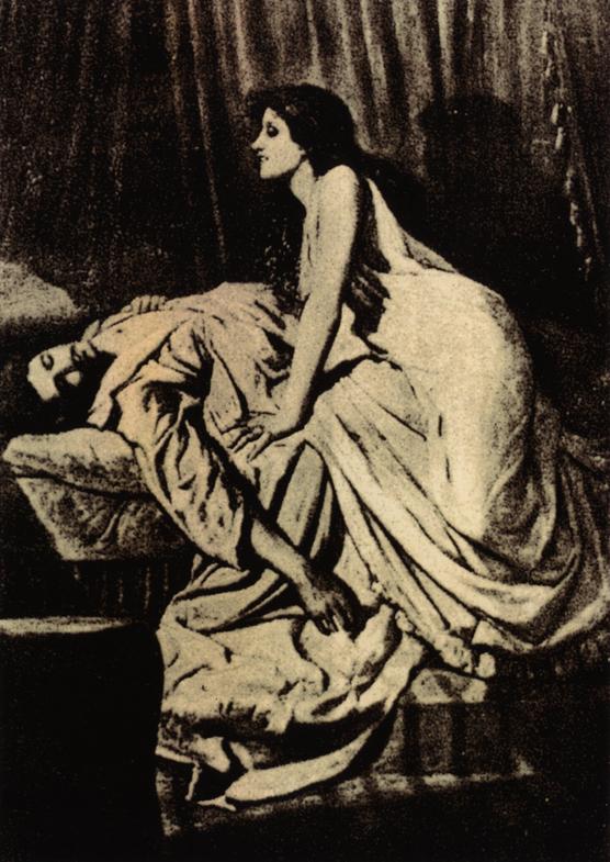 フィリップ・バーン=ジョーンズ 「吸血鬼」