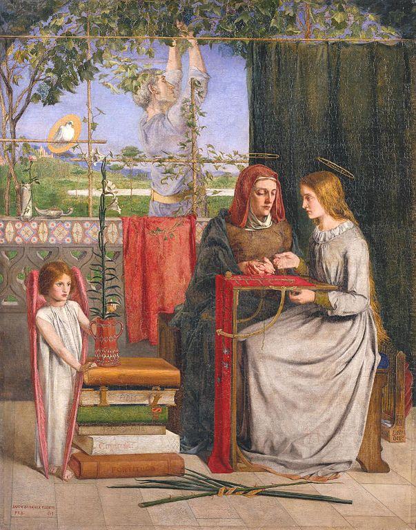 聖母マリアの少女時代