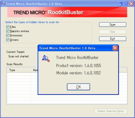 RootkitBuster 1.6.1055