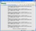 SSDバグレポート送信結果