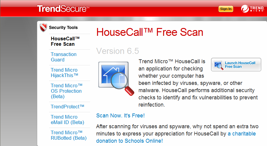 TrendSecure Security Tools
