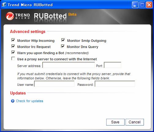 Trend Micro RUBotted (Beta)
