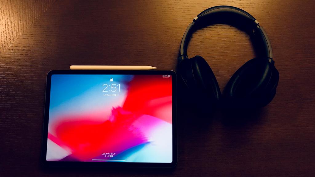 iPad Pro_wh-1000xm3