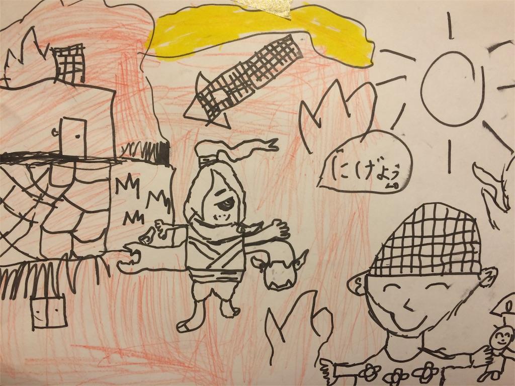北朝鮮ミサイル発射の絵