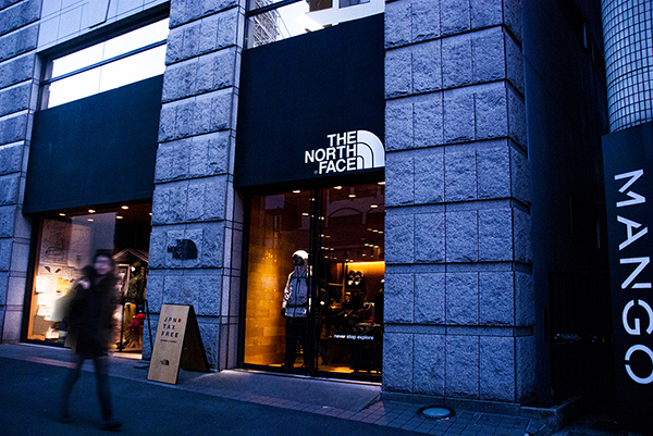 THE NORTH FACE 原宿店