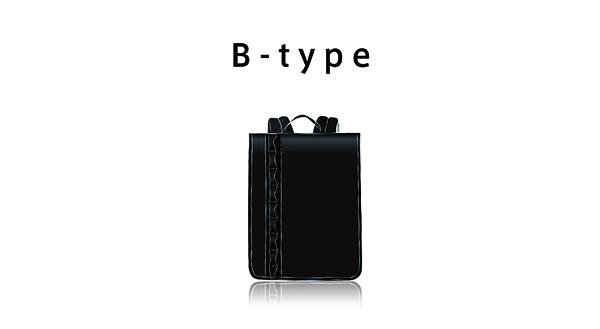 2019 ランドセル アウトドアブランドのランドセルイメージイラスト Btype