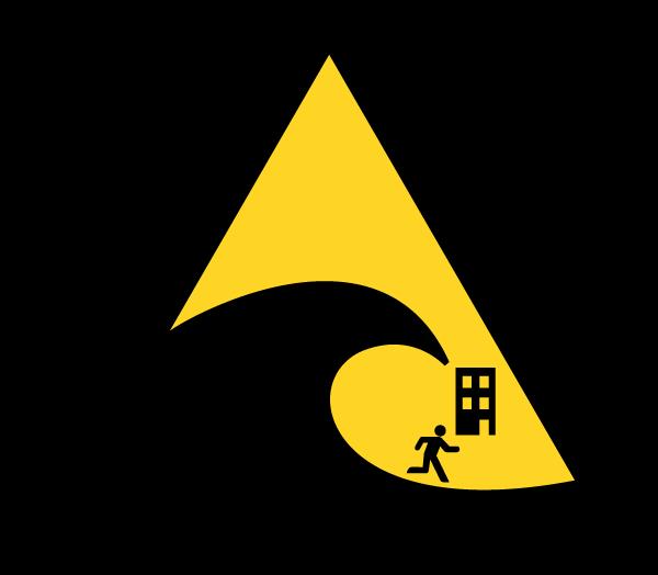 津波サイン標識