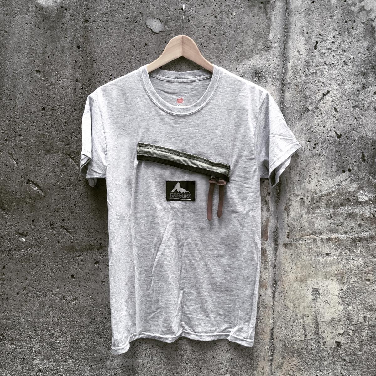 グレゴリー デイパック Tシャツ