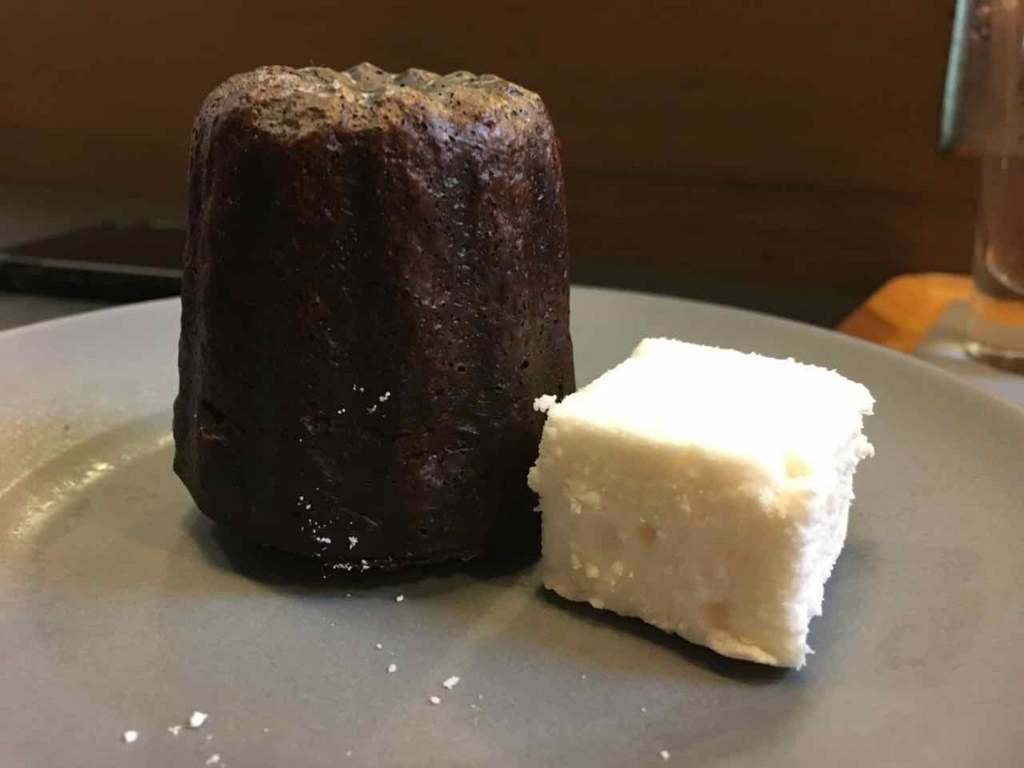 Camino Verde Canele at Dandelion Chocolate SF