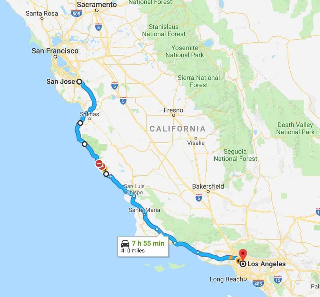 カリフォルニアドライブ旅行