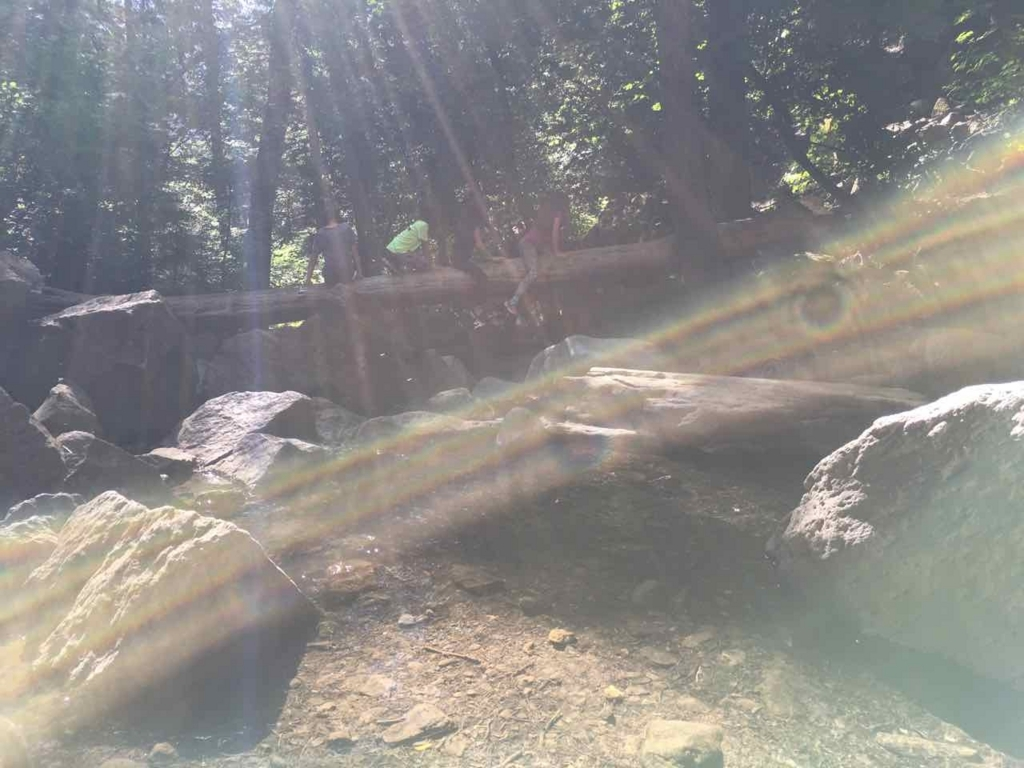 Hedge Creek Fallsの思い出
