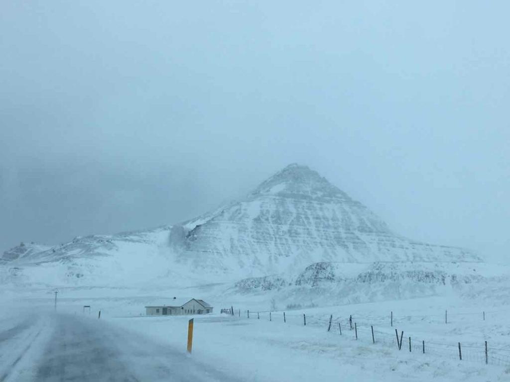 アイスランドでのドライブ