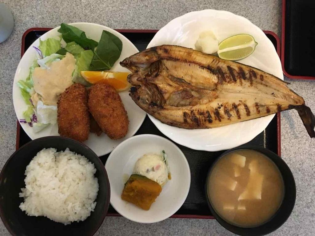 Gombeiの定食