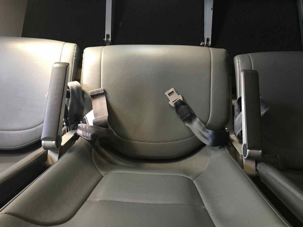 フロンティア航空の座席