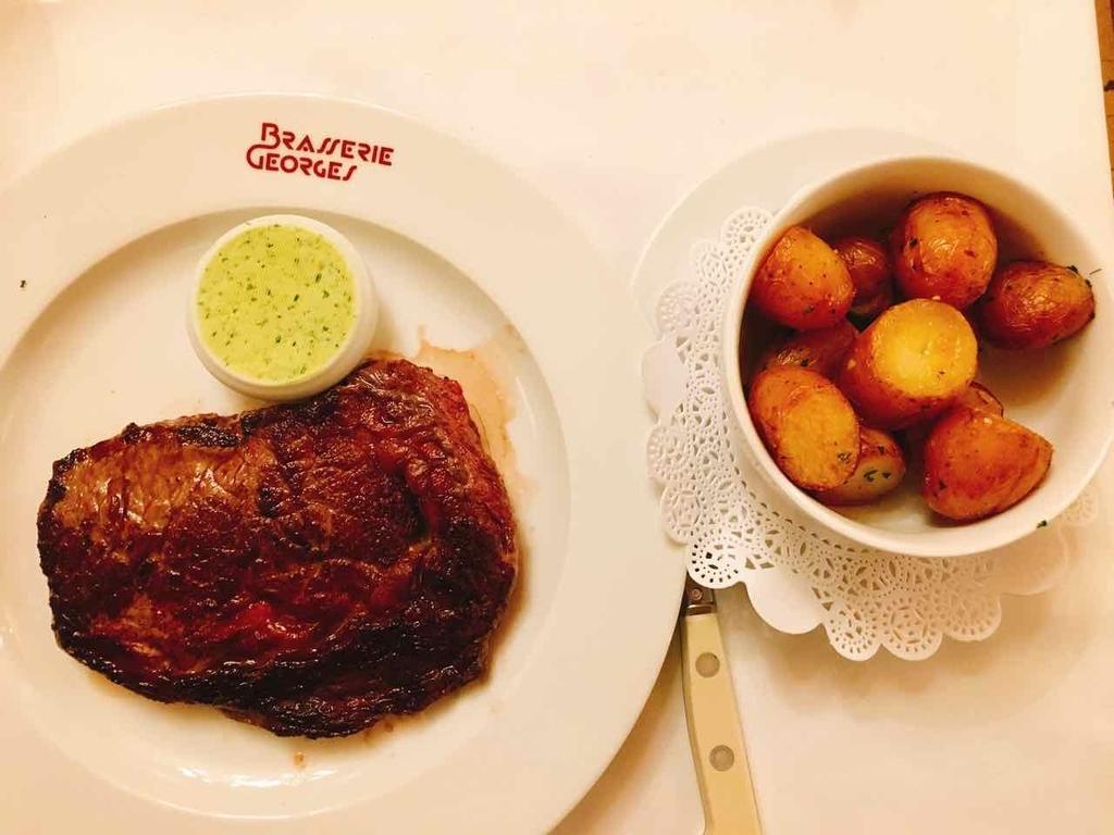 フランスのステーキ