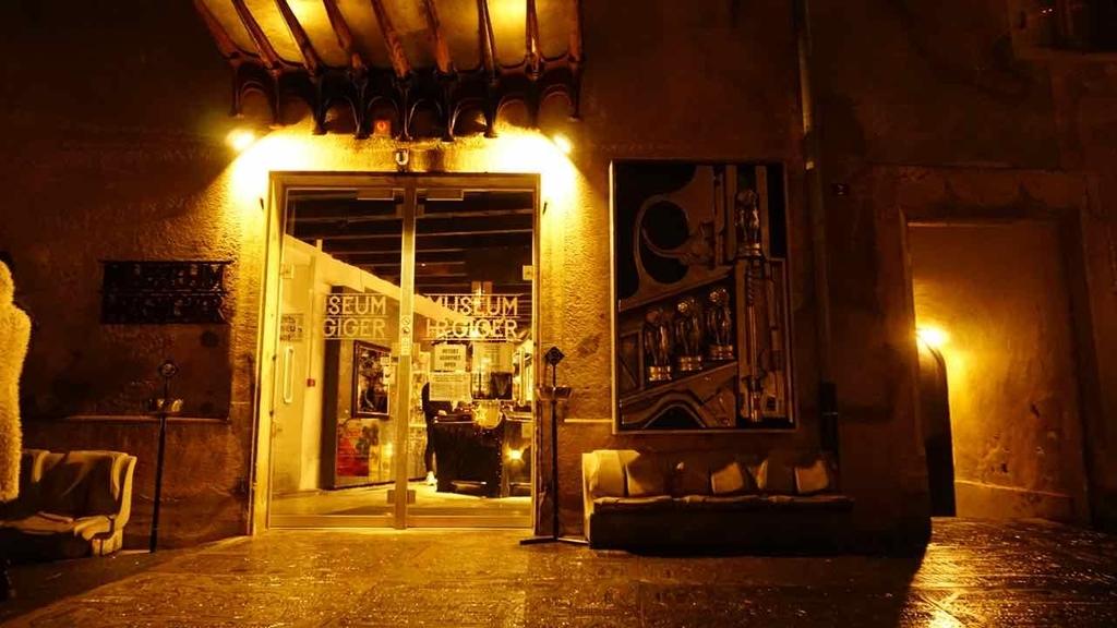HR Giger Bar Museum
