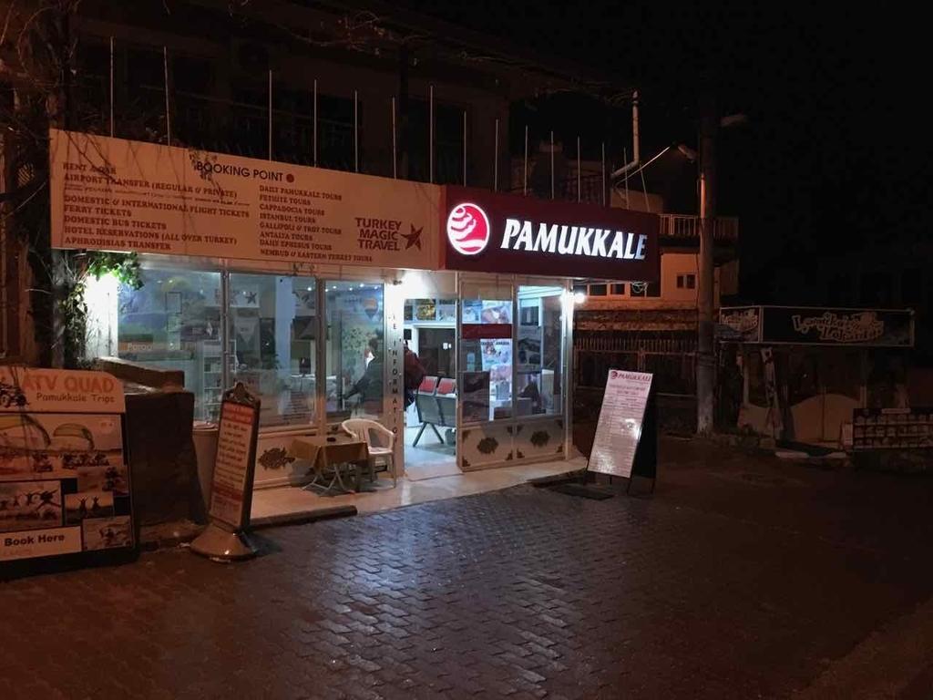 パムッカレの旅行会社