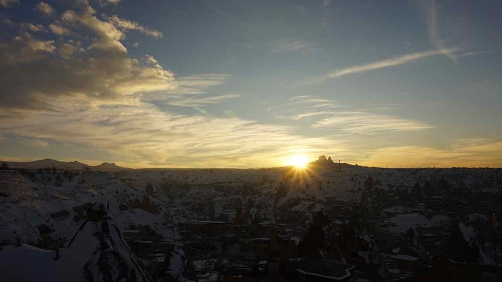 カッパドギアの夕日