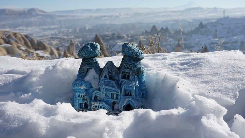 冬のカッパドギア