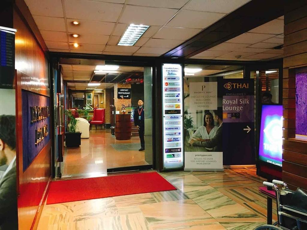 Executive Loungeの入口