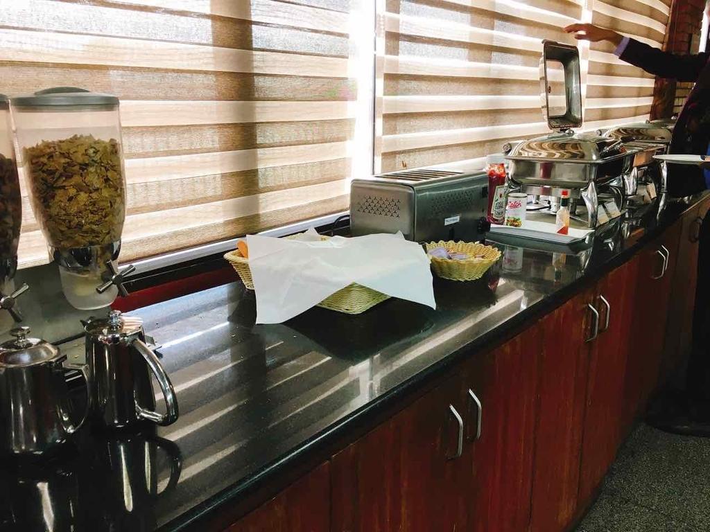 Executive Loungeの朝食メニュー