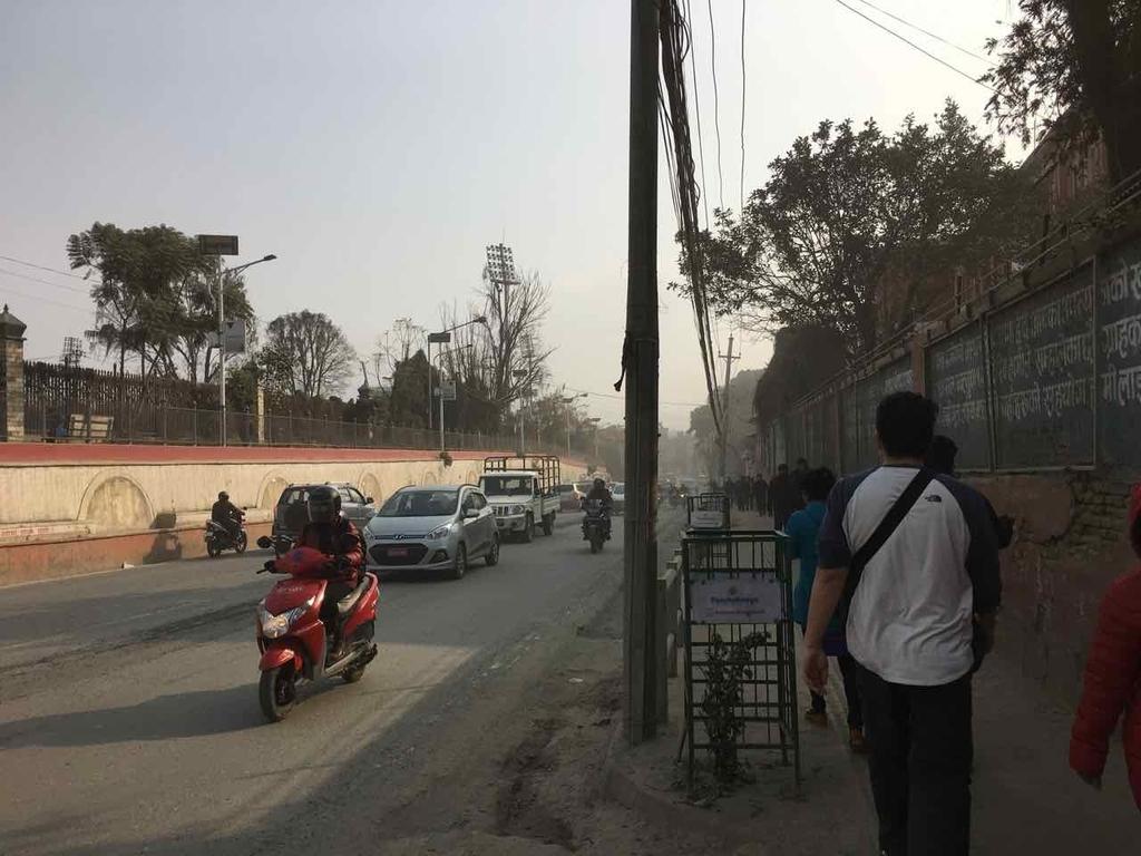 カトマンズ 大気汚染