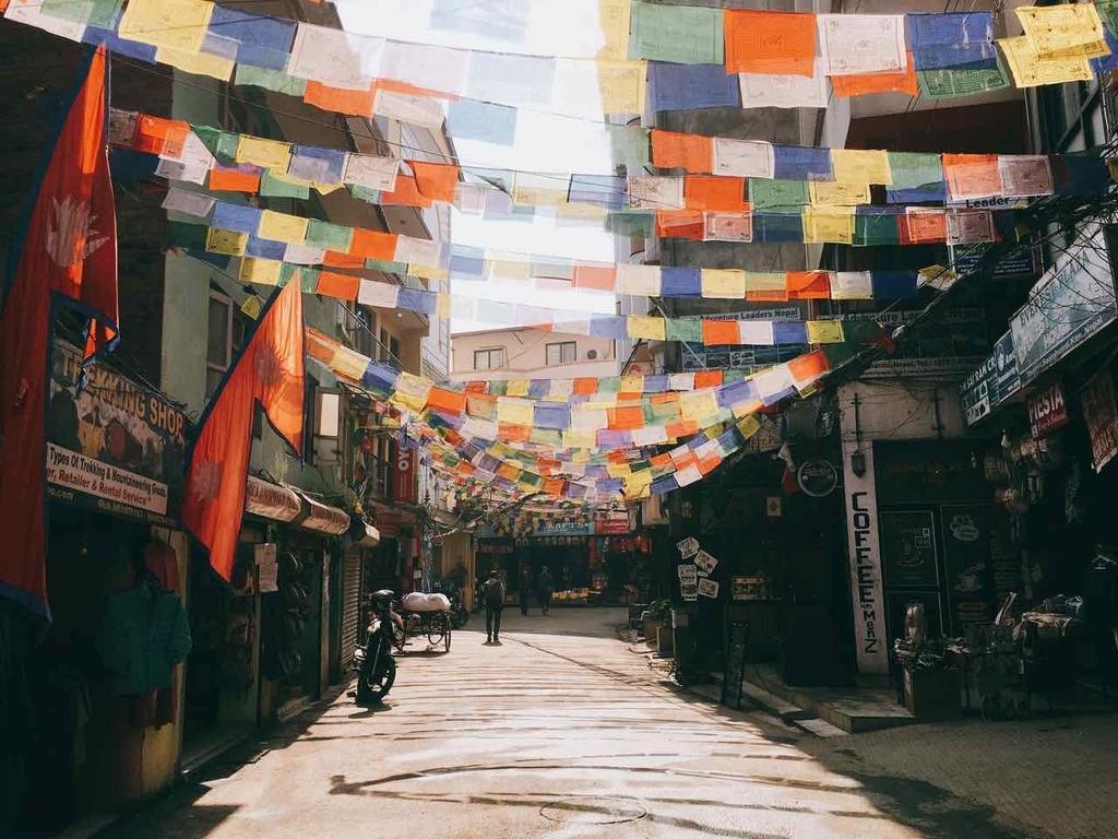 ネパール 道路