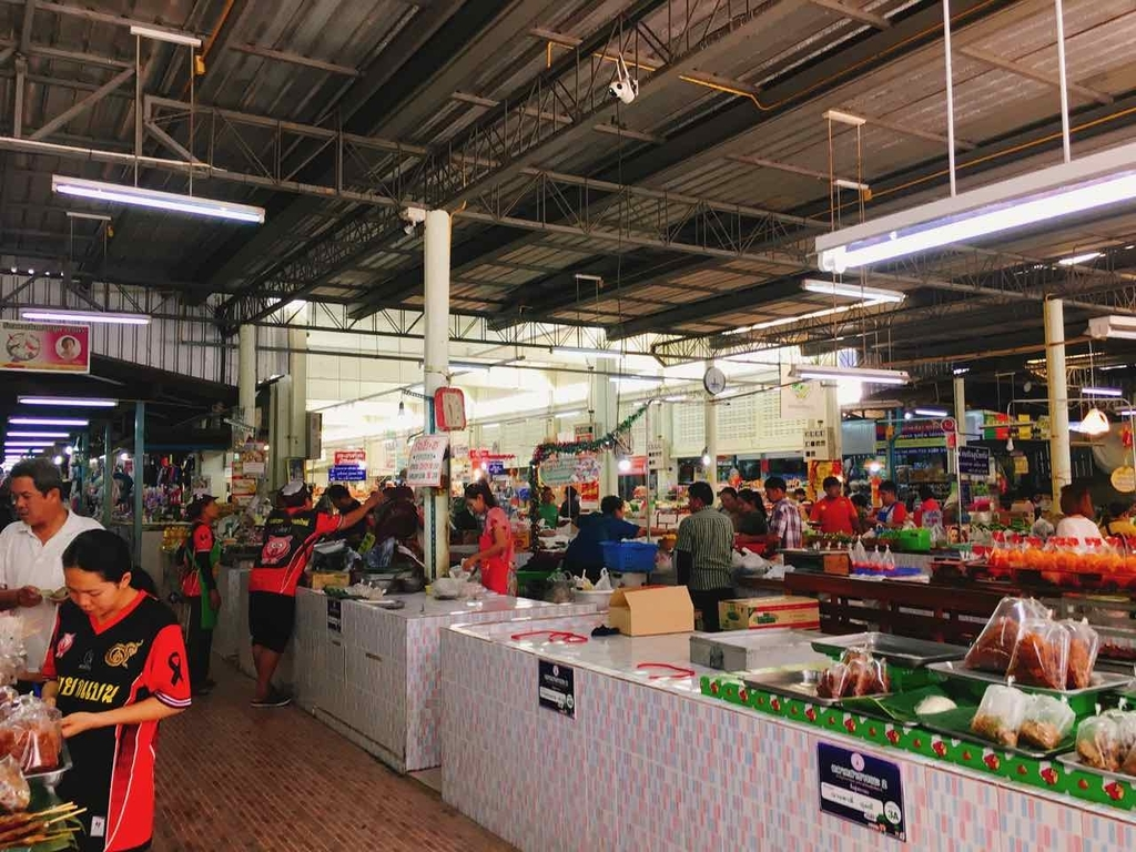 Sukhothai Thani Municipal Food Market