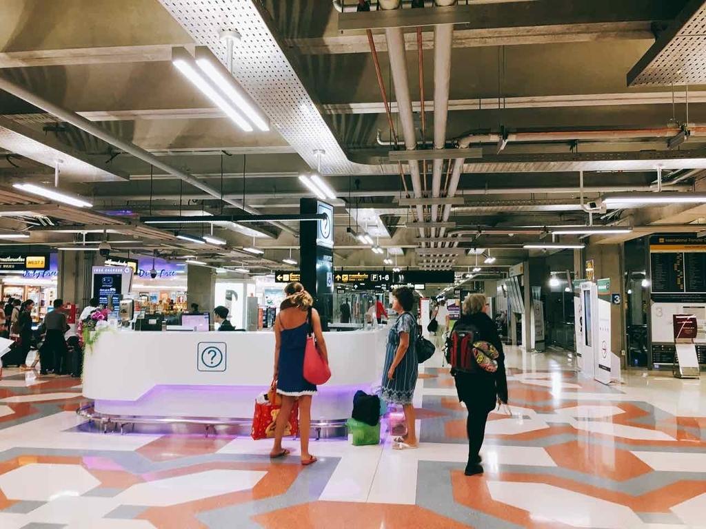 タイ・バンコク・スワンナプーム国際空港