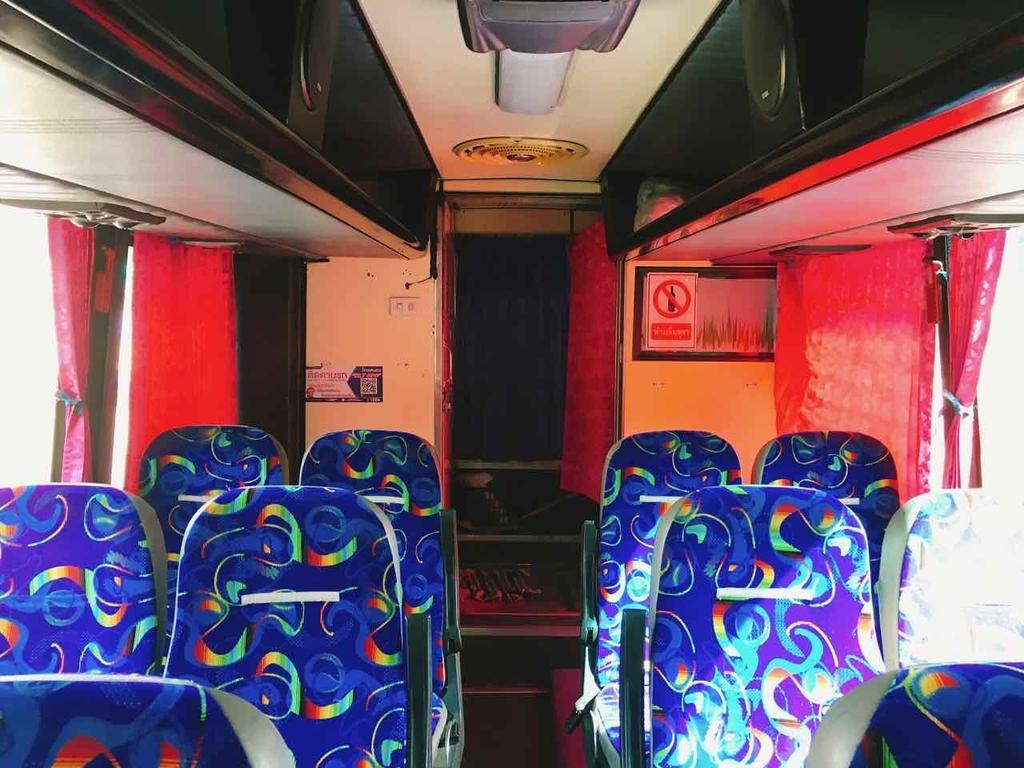 スコータイ行きバス