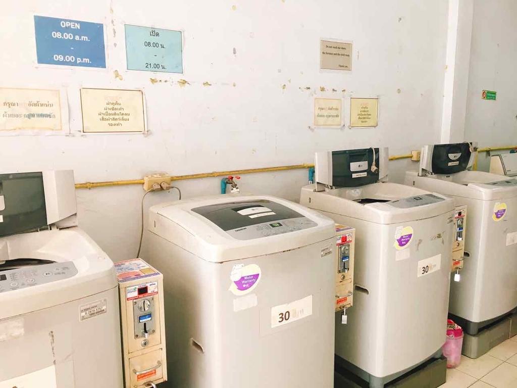 タイ チェンマイ 洗濯機