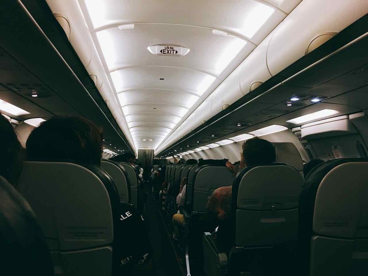 ベトジェット 機内の様子