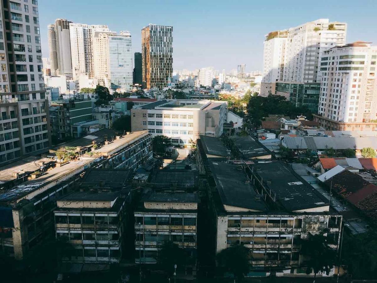 ベトナム 高層ビル群